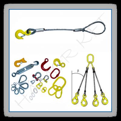 Acélsodronykötél (ASK), drótkötél termékek